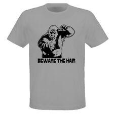 Beware The Hair George The Animal Steele Gray T Shirt