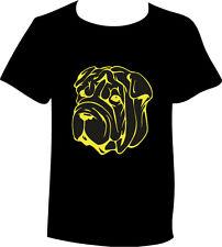 T-Shirt Shar Pei Hunderasse Kopf Motiv Hundemotiv Shirt
