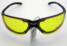 Terminator Yellow Lens Sunglasses Motorcycle Glasses