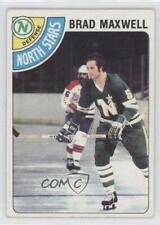 1978-79 Topps #83 Brad Maxwell Minnesota North Stars RC Rookie Hockey Card