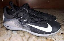 NIKE Lunar Vapor Ultrafly Elite Black Baseball Spikes Cleats NEW Mens 7 8 9 9.5