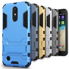 Schutzhülle für LG K10 Handycase Plastik Back Cover Hülle Outdoor Hybrid Tasche