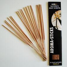 Räucherstäbchen Vanille / Aroma Sticks Nature´s Best Scents