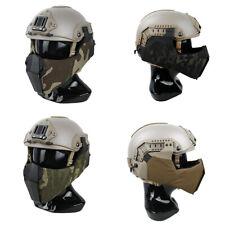 Mandible Guide Rail Connection TMC Half Face Mask for OC Highcut Helmet Tactical