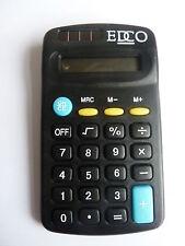 30 xhand-held/Escritorio Superior/Batería Solar De Bolsillo Calculadora de 8 dígitos ** nuevo 11x6cms