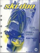 2002 SKI-DOO SNOWMOBILE GRAND TOURING  PARTS MANUAL P/N 484 400 279