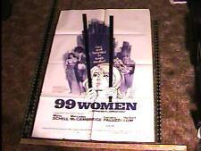 99 WOMEN  MOVIE POSTER SEXPLOITATION JESS FRANCO