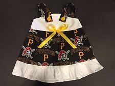 MLB Pittsburgh Pirates Baby Infant Toddler Girls Dress *YOU PICK SIZE*