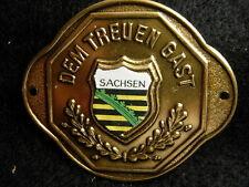 Sachsen new badge stocknagel hiking medallion G9858