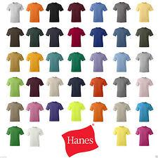 Hanes 5280 ComfortSoft® Heavyweight T-Shirt - 5280 S M L XL 2XL 3XL 4XL
