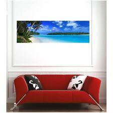 Affiche poster vue panoramique plage  1612679