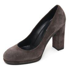 B7664 decollete donna TOD'S T90 scarpa grigio scuro shoe woman