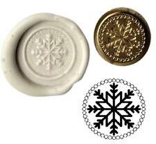 Christmas Snowflake Winter Wax Stamp Seal Kit or Buy Coin Design XWS039B/XWSC123