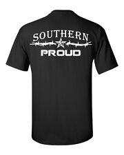 Southern Proud Logo t shirt,redneck hillbilly fishing short sleeve south cracker