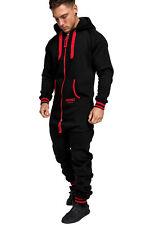 Herren Overall Jumpsuit Jogging-Anzug Onesie Trainingsanzug Sportanzug 3007
