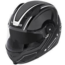 Held Travel Champ Flip Front Motorcycle Motorbike Helmet Gloss Black