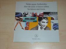 38846) Mercedes A-Klasse W168 Prospekt 199?