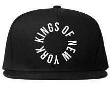 Kings Of NY Circle Logo Printed Snapback hat New York NYC Cap