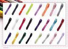 """Annie Haute Qualité Satin Uni 2"""" Fin Cravate Mariage/Fête 25 Colors en Stock"""