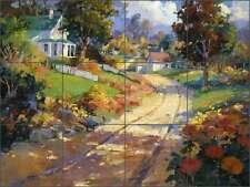 Ceramic Tile Mural Kitchen Backsplash Songer Country Life Landscape RW-SSA001