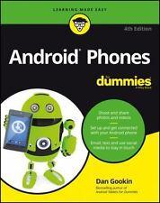 ANDROID PHONES FOR DUMMIES - GOOKIN, DAN - NEW PAPERBACK BOOK