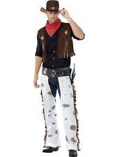 Costume da Cowboy Carnevale Costume Cowboy Vestito #20471 da Smiffys Nuovo