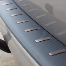 Protecteur de Pare-chocs arrière en fibre de carbone Volkswagen T6 (Avec double