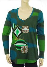 DESIGUAL Tee shirt tunique femme TS YACON Jungle Green 57T24R6 coloris 4076