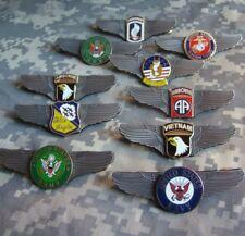 WW2 US ARMY Air AIRBORNE DIVISION WINGS BADGE PIN INSIGNIA METAL BADGE MILITARY