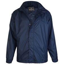 Kam Big Mens Waterproof Jacket Blue BIG 3XL 4XL 5XL 6XL 7XL 8XL