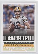 2013 Score Scorecard #278 Aaron Rodgers Green Bay Packers Football Card