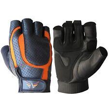 Sports Racing Bike Cycling Half Finger Leather Glove Short Finger Sport Gloves