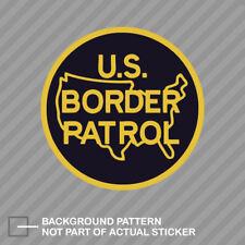 US Border Patrol Sticker Decal Vinyl immigration homeland security