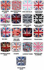 Union Jack Pantallas de Lámpara Para Combinar Londres edredones, Cortinas &