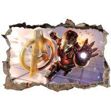 Stickers 3D Ironman Avengers réf 52490