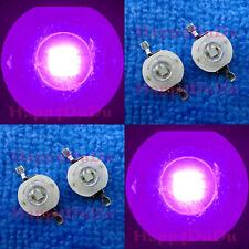 10/50/100pcs 3W 45mil UV 365nm~395nm~420nm Purple LED Lamp Beads Light Aquarium