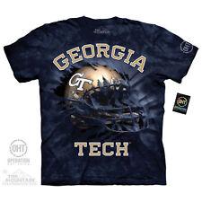 The Mountain Hat Trick Georgia Tech Yellow Jackets T-Shirt---Brand New--