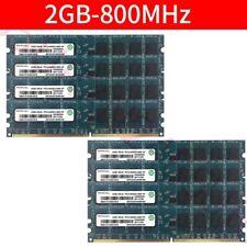Ramaxel 16GB (8x2GB) /1GB PC2-6400U DDR2 800MHz DIMM Desktop intel Memory LOT UK