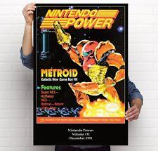 Nintendo Power Volume 31 Metroid 2 Return Of Samus Retro 11x17 24x36 Poster
