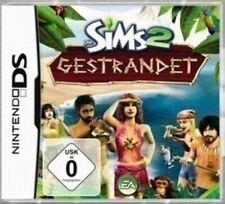 Nintendo DS Spiel - Die Sims 2 Spiel - Gestrandet (mit OVP)