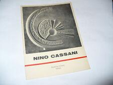 GALLERIA CORSINI INTRA CATALOGO MOSTRA NINO CASSANI