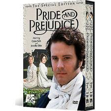 New Sealed Pride and Prejudice: BBC Mini-Series,2 Disc DVD,2001 Special Edition