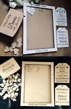 Wedding Guestbook, Drop Box Guestbook, , Wooden Guestbook , Frame A 4 , A 3