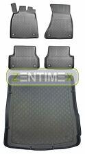 Z330069 SET Kofferraumwanne Gummifußmatten für Audi A6 C7 4G Vor-Facelift Avant