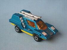 Lesney Matchbox Superfast Cosmobile Blue with Chrome Interior UB