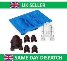 Vendedor Reino Unido Star Wars Molde de Silicona R2D2 Cubo de Hielo Bandeja Pastel Jelly cookies Whisky