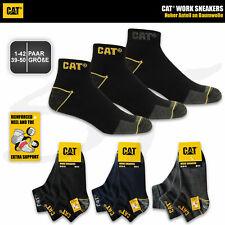 CAT® CATERPILLAR WORK SNEAKER SOCKEN ArbeitsSneaker Arbeitssocken Strümpfe 39-50