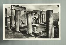 vecchia cartolina di pompei  foro triangolare