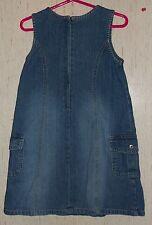 GIRLS OLD NAVY DISTRESSED BLUE JEAN JUMPER DRESS  SIZE 4T