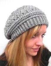 Bonnet femme De Tricot long slouch Chapeaux Tricotés d'hiver